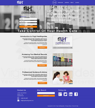 Your Personal Medical Records Complete Web Design Solution  Draft # 112 by ennweb