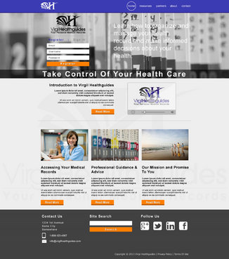 Your Personal Medical Records Complete Web Design Solution  Draft # 113 by ennweb