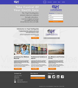 Your Personal Medical Records Complete Web Design Solution  Draft # 117 by ennweb