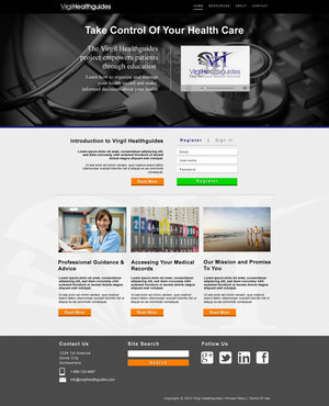 Your Personal Medical Records Complete Web Design Solution  Draft # 119 by ennweb