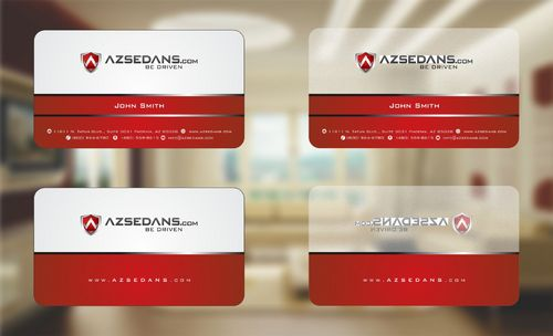 AZ Sedans Discount Card Business Cards and Stationery  Draft # 60 by Deck86