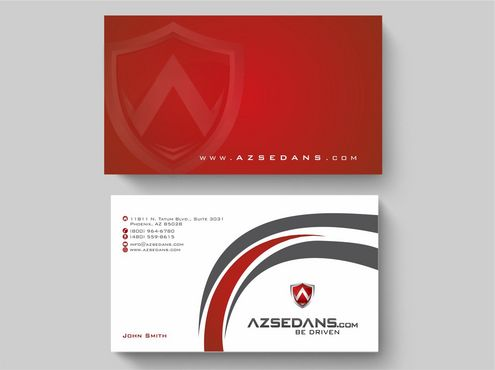 AZ Sedans Discount Card Business Cards and Stationery  Draft # 89 by Deck86
