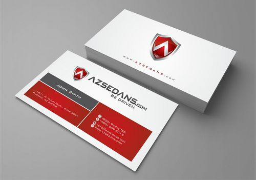 AZ Sedans Discount Card Business Cards and Stationery  Draft # 90 by Deck86