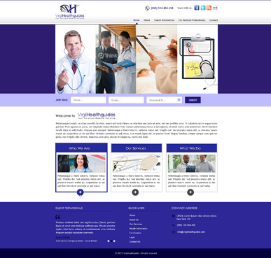 Your Personal Medical Records Complete Web Design Solution  Draft # 131 by kalyan