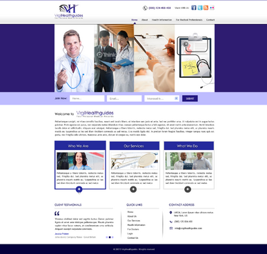 Your Personal Medical Records Complete Web Design Solution  Draft # 132 by kalyan