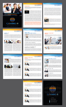 CAMBIO 8 Consultancy and freelance services  Marketing collateral  Draft # 23 by Achiver