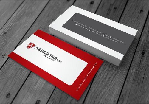 AZ Sedans Discount Card Business Cards and Stationery  Draft # 98 by xtremecreative3