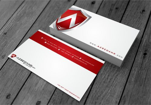 AZ Sedans Discount Card Business Cards and Stationery  Draft # 101 by xtremecreative3