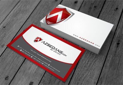 AZ Sedans Discount Card Business Cards and Stationery  Draft # 102 by xtremecreative3