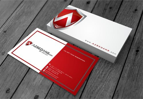 AZ Sedans Discount Card Business Cards and Stationery  Draft # 103 by xtremecreative3