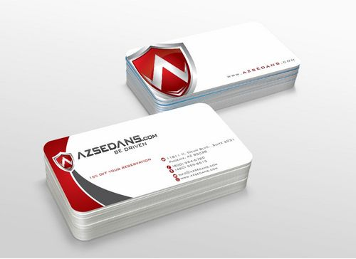 AZ Sedans Discount Card Business Cards and Stationery  Draft # 104 by xtremecreative3