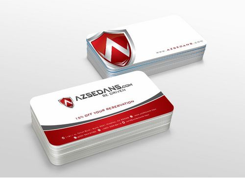 AZ Sedans Discount Card Business Cards and Stationery  Draft # 106 by xtremecreative3