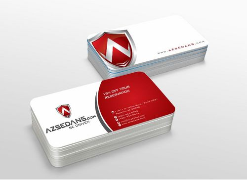 AZ Sedans Discount Card Business Cards and Stationery  Draft # 105 by xtremecreative3