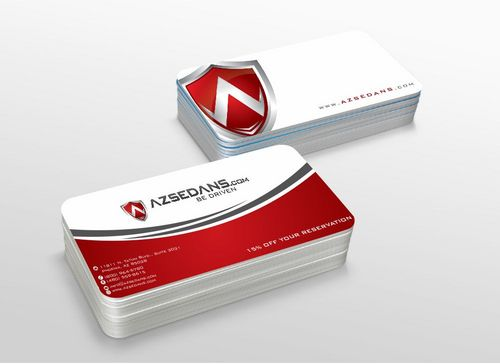AZ Sedans Discount Card Business Cards and Stationery  Draft # 107 by xtremecreative3