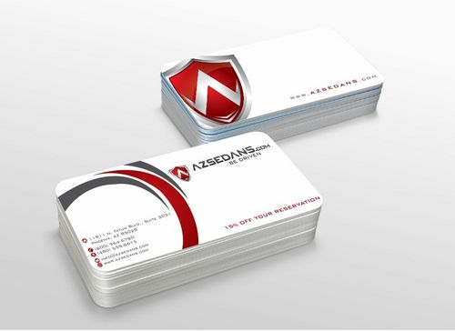 AZ Sedans Discount Card Business Cards and Stationery  Draft # 108 by xtremecreative3