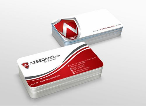 AZ Sedans Discount Card Business Cards and Stationery  Draft # 109 by xtremecreative3