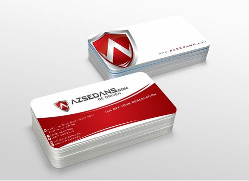AZ Sedans Discount Card Business Cards and Stationery  Draft # 110 by xtremecreative3