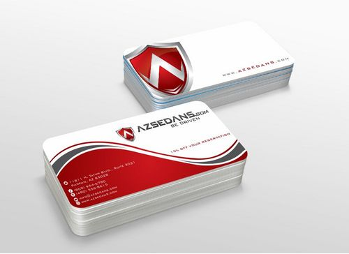 AZ Sedans Discount Card Business Cards and Stationery  Draft # 111 by xtremecreative3