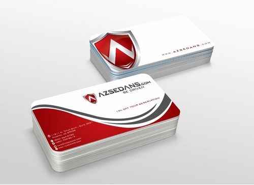 AZ Sedans Discount Card Business Cards and Stationery  Draft # 112 by xtremecreative3
