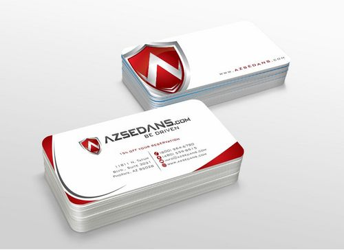 AZ Sedans Discount Card Business Cards and Stationery  Draft # 113 by xtremecreative3