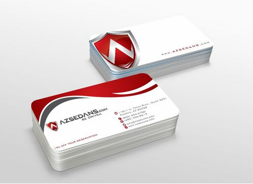 AZ Sedans Discount Card Business Cards and Stationery  Draft # 114 by xtremecreative3
