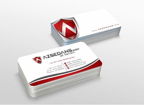 AZ Sedans Discount Card Business Cards and Stationery  Draft # 116 by xtremecreative3