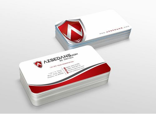AZ Sedans Discount Card Business Cards and Stationery  Draft # 117 by xtremecreative3