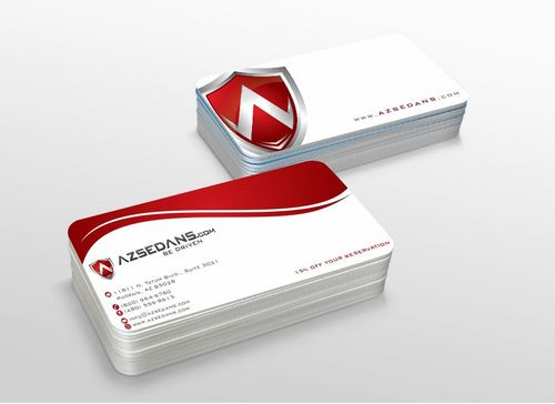 AZ Sedans Discount Card Business Cards and Stationery  Draft # 118 by xtremecreative3