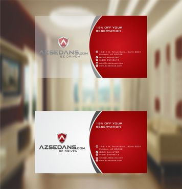 AZ Sedans Discount Card Business Cards and Stationery  Draft # 119 by xtremecreative3