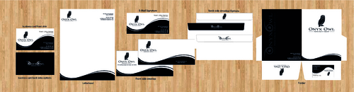 Onyx Owl Research Group, LLC Business Cards and Stationery  Draft # 157 by skyscraper