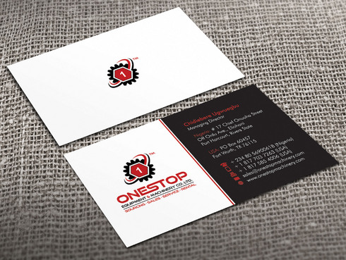Onestop Equipment Co. Ltd. Business Cards and Stationery  Draft # 22 by Xpert