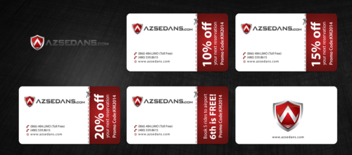 AZ Sedans Discount Card Business Cards and Stationery  Draft # 124 by einsanimation