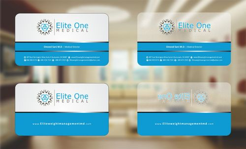 Elite Weight Management MD Business Cards and Stationery  Draft # 94 by Deck86