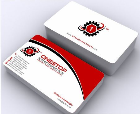 Onestop Equipment Co. Ltd. Business Cards and Stationery  Draft # 87 by Deck86