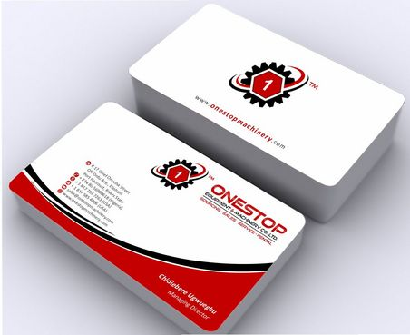 Onestop Equipment Co. Ltd. Business Cards and Stationery  Draft # 88 by Deck86