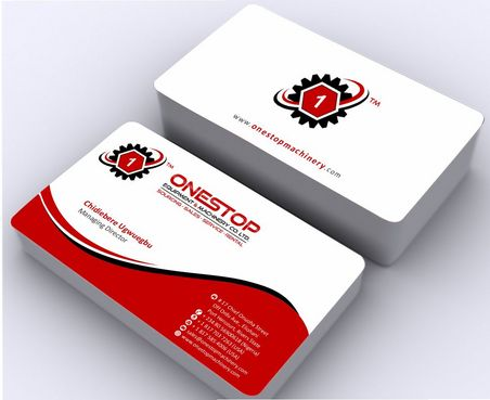 Onestop Equipment Co. Ltd. Business Cards and Stationery  Draft # 89 by Deck86