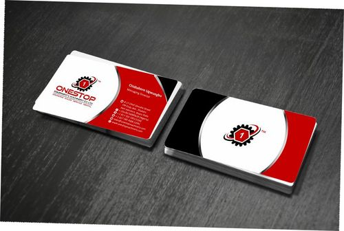 Onestop Equipment Co. Ltd. Business Cards and Stationery  Draft # 93 by Deck86