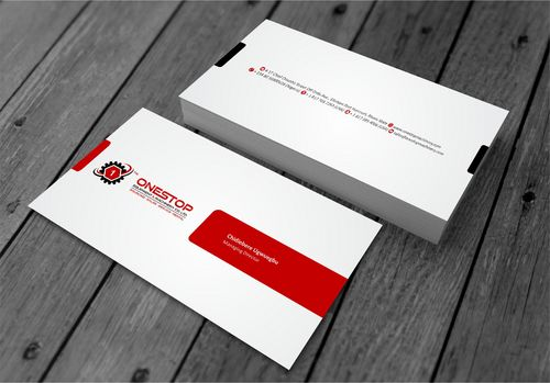 Onestop Equipment Co. Ltd. Business Cards and Stationery  Draft # 99 by xtremecreative3