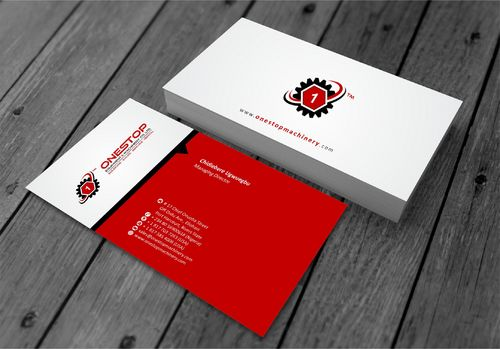 Onestop Equipment Co. Ltd. Business Cards and Stationery  Draft # 101 by xtremecreative3