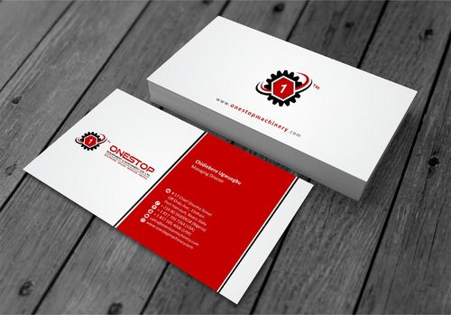 Onestop Equipment Co. Ltd. Business Cards and Stationery  Draft # 102 by xtremecreative3