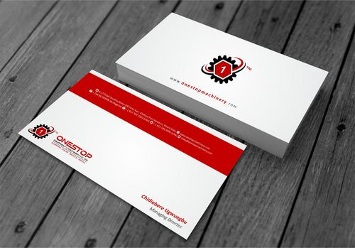 Onestop Equipment Co. Ltd. Business Cards and Stationery  Draft # 104 by xtremecreative3