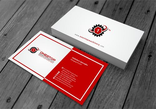 Onestop Equipment Co. Ltd. Business Cards and Stationery  Draft # 105 by xtremecreative3