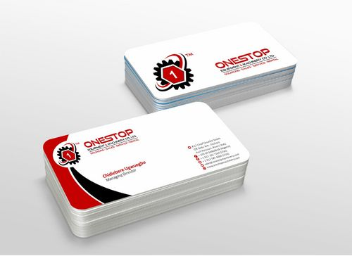Onestop Equipment Co. Ltd. Business Cards and Stationery  Draft # 108 by xtremecreative3