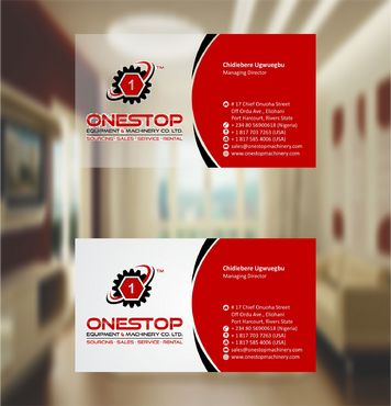 Onestop Equipment Co. Ltd. Business Cards and Stationery  Draft # 109 by xtremecreative3
