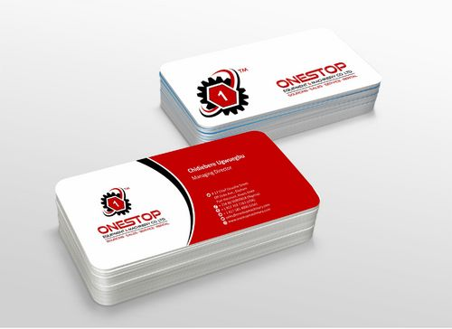 Onestop Equipment Co. Ltd. Business Cards and Stationery  Draft # 110 by xtremecreative3