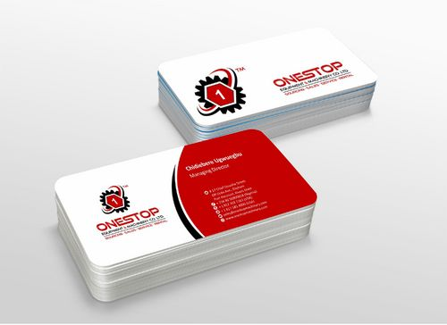 Onestop Equipment Co. Ltd. Business Cards and Stationery  Draft # 112 by xtremecreative3