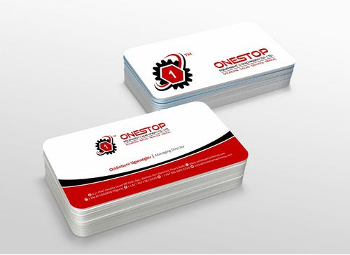 Onestop Equipment Co. Ltd. Business Cards and Stationery  Draft # 113 by xtremecreative3