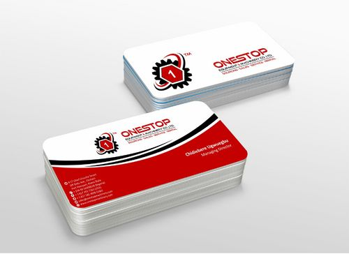 Onestop Equipment Co. Ltd. Business Cards and Stationery  Draft # 114 by xtremecreative3
