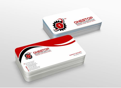Onestop Equipment Co. Ltd. Business Cards and Stationery  Draft # 115 by xtremecreative3