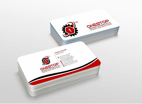 Onestop Equipment Co. Ltd. Business Cards and Stationery  Draft # 116 by xtremecreative3